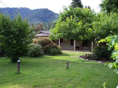 Jackson County, Josephine County Single Family Home For Sale: 6595 Rogue River Highway