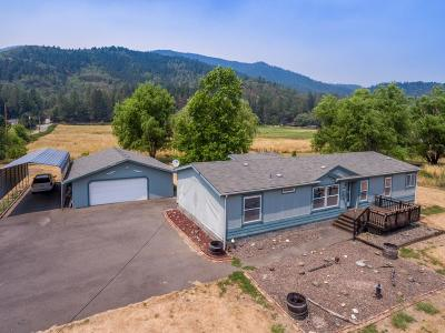 Rogue River Single Family Home For Sale: 595 W Evans Creek Road