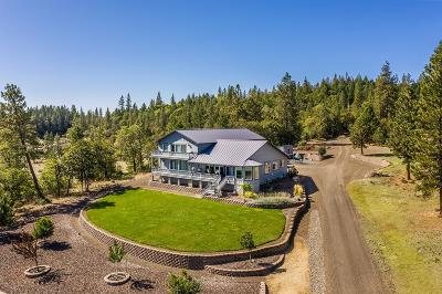 Jackson County, Josephine County Single Family Home For Sale: 6501 Butte Falls Highway