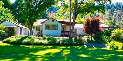 Rogue River Single Family Home For Sale: 1409 East Evans Creek Road