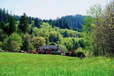 Single Family Home For Sale: 9141 North Fork Siuslaw Road