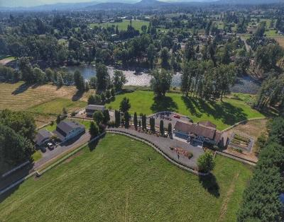 Merlin, Sunny Valley, Wimer, Rogue River, Wilderville, Grants Pass Single Family Home For Sale: 4377 Lower River Road