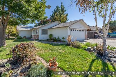Medford Single Family Home For Sale: 1181 Char Way