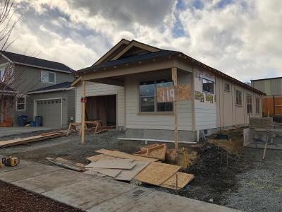 Talent Single Family Home For Sale: 119 William Way #Lot3