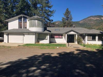 Grants Pass Single Family Home For Sale: 5200 Rogue River Highway
