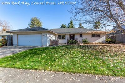 Central Point Single Family Home For Sale: 4080 Rock Way