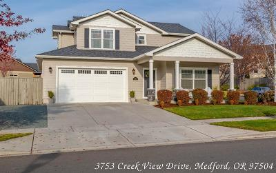 Medford Single Family Home For Sale: 3753 Creek View Drive