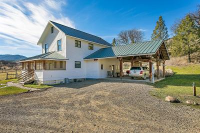 Ashland Single Family Home For Sale: 2245 Colestin Road