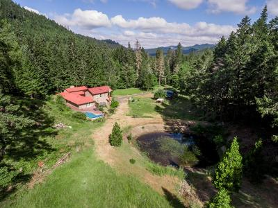 Wolf Creek Single Family Home For Sale: 2021 Placer Road