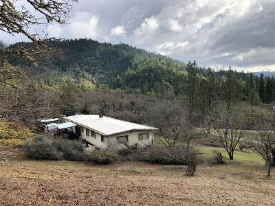 Merlin, Sunny Valley, Wimer, Rogue River, Wilderville, Grants Pass, Hugo, Wolf Creek, Murphy Single Family Home For Sale: 350 Rancho Vista Drive