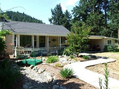 Grants Pass Single Family Home For Sale: 6589 Rogue River Highway