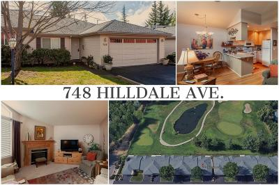 Single Family Home For Sale: 748 Hilldale Avenue