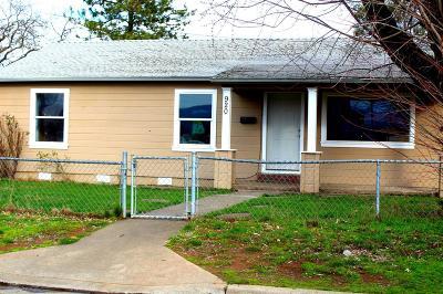 Jackson County, Josephine County Single Family Home For Sale: 920 Broad Street