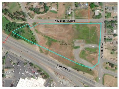 Grants Pass Residential Lots & Land For Sale: 2100 Scoville Road