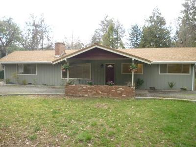 Jackson County, Josephine County Single Family Home Active-72HR Release: 540 Upper Applegate Road