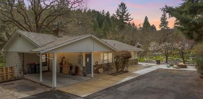 Medford Single Family Home For Sale: 5275 Coleman Creek Road