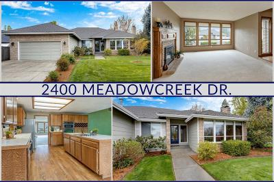 Medford Single Family Home For Sale: 2400 Meadowcreek Drive
