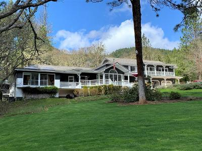 Merlin, Sunny Valley, Wimer, Rogue River, Wilderville, Grants Pass Single Family Home For Sale: 1800 E Jones Crk Road