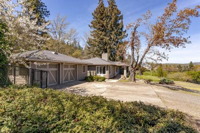 Central Point Single Family Home For Sale: 4323 Old Stage Road