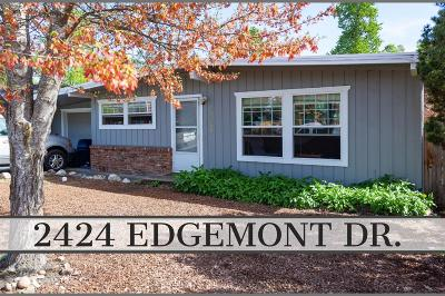 Medford Single Family Home For Sale: 2424 Edgemont Drive
