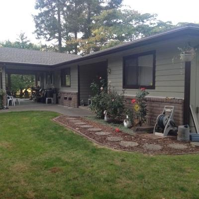 Merlin, Sunny Valley, Wimer, Rogue River, Wilderville, Grants Pass Single Family Home For Sale: 3840 Almar Road