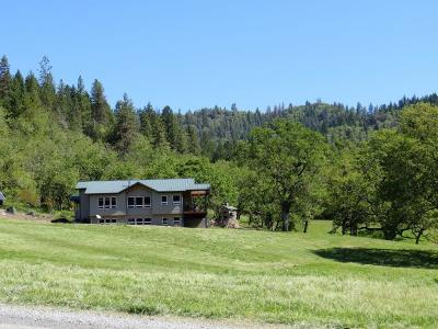 Jackson County, Josephine County Single Family Home For Sale: 14719 E Evans Creek Road