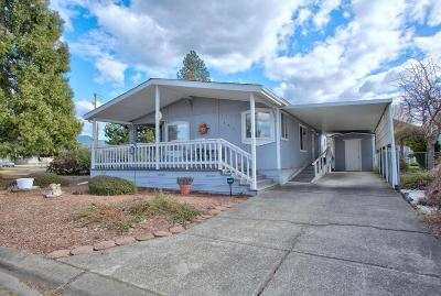 Merlin, Sunny Valley, Wimer, Rogue River, Wilderville, Grants Pass Mobile Home For Sale: 151 Whispering Willow Drive