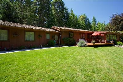 Applegate Single Family Home For Sale: 8180 Thompson Creek Road