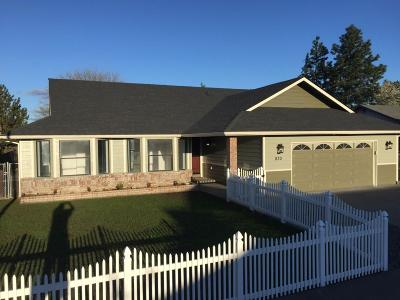 Grants Pass Single Family Home For Sale: 833 Delsie Drive