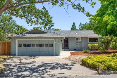 Single Family Home For Sale: 814 Oak Knoll Drive