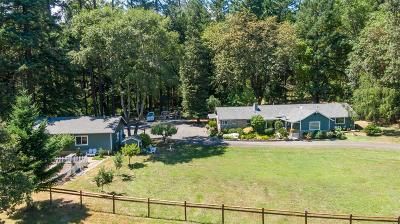 Grants Pass Single Family Home For Sale: 6912 Redwood Highway
