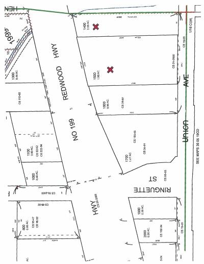 Grants Pass Residential Lots & Land For Sale: 330 Union Avenue