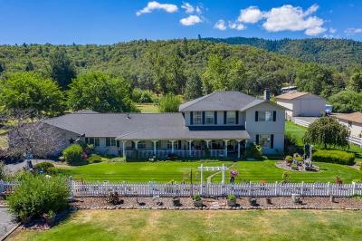 Jackson County, Josephine County Single Family Home For Sale: 6575 Old Stage Road