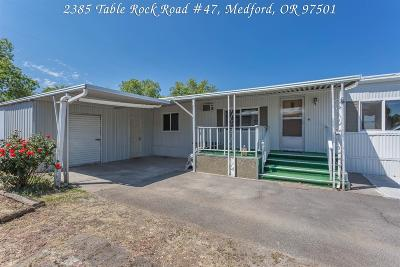 Medford Mobile Home For Sale: 2385 Table Rock Road #47