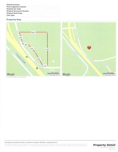 Josephine County Residential Lots & Land For Sale: 200 Coyote Creek Road