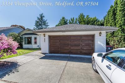 Medford Single Family Home For Sale: 3334 Viewpoint Drive
