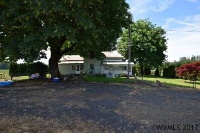 Stayton Single Family Home For Sale: 17874 Old Mehama Rd
