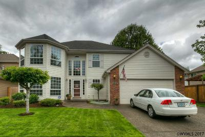 Keizer Single Family Home Active Under Contract: 7673 Steamboat