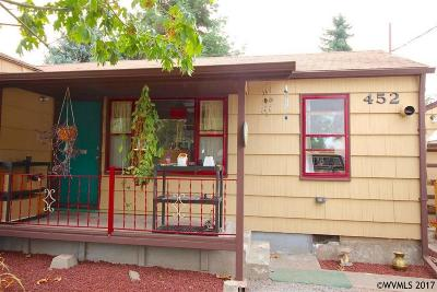 Monmouth Single Family Home Active Under Contract: 452 College St