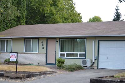 Monmouth Single Family Home For Sale: 463 Heffley
