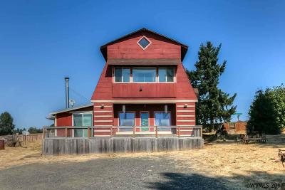 Aumsville Single Family Home Active Under Contract: 9993 Silver Falls Hwy