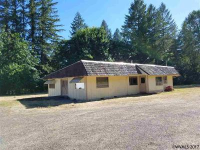 Mill City Single Family Home For Sale: 30210 North Santiam Hwy