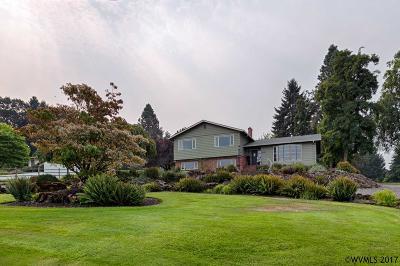 Salem Single Family Home For Sale: 6840 Burnett