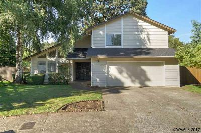 Salem Single Family Home Active Under Contract: 4645 Tragen