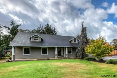 Salem Single Family Home For Sale: 8570 Aumsville