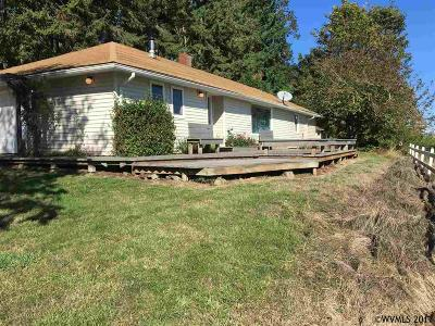 Monmouth Single Family Home Active Under Contract: 13175 Fishback Rd
