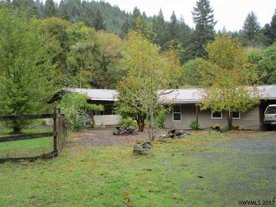 Monmouth Single Family Home Active Under Contract: 11150 Kings Valley Hwy