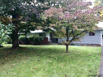 Keizer Single Family Home Active Under Contract: 4881 15th Av