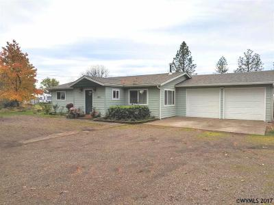 Aumsville Single Family Home For Sale: 10613 Mill Creek Rd