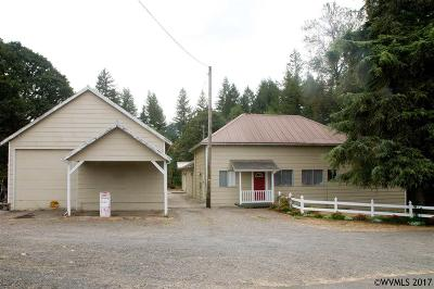 Scio Single Family Home For Sale: 42382 Highway 226